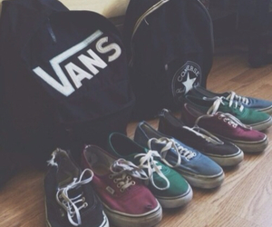 vans, shoes, and converse image