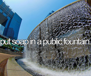 soap, fountain, and fun image