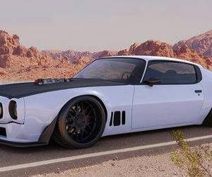 muscle car, rims, and fitment image