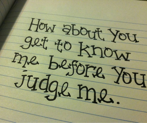 quote, judge, and know image