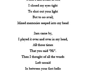 goodbye, poem, and poems image