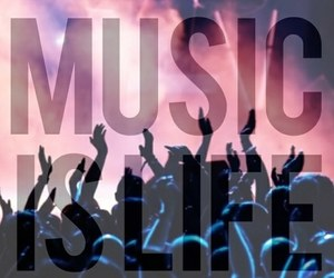 music, life, and concert image