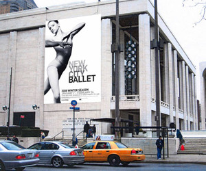 ballet, city, and girl image