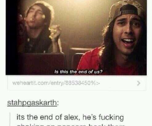 all time low, vic fuentes, and alex gaskarth image