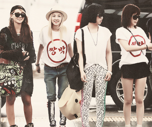 CL, yg, and minzy image