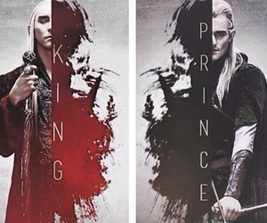 Legolas, thranduil, and LOTR image