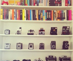 book and camera image