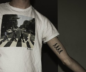 tattoo, beatles, and the beatles image
