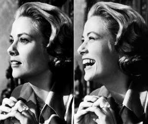 black and white and grace kelly image