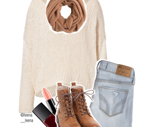 casual, fall, and girly image