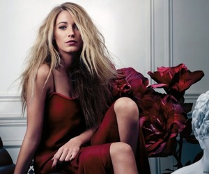blake lively, gossip girl, and red image