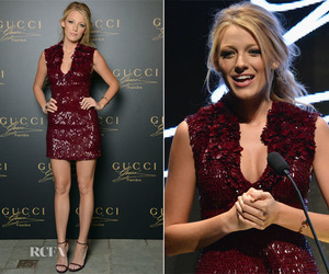 blake lively and gucci image
