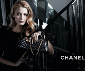 chanel, blake lively, and gossip girl image