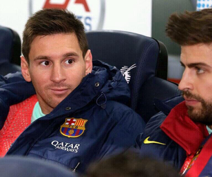 Barca, leo messi, and Barcelona image