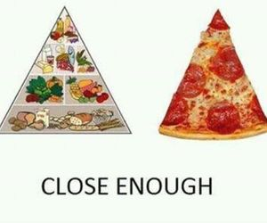food, lol, and pizza image