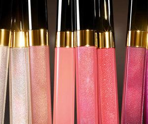 makeup, chanel, and lipgloss image