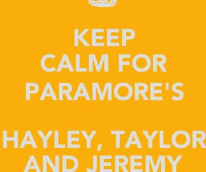 hayley, taylor, and keep calm and image