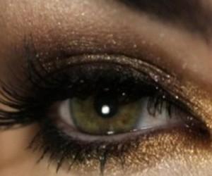 eyes, glamorous, and lips image