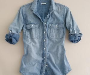 fashion, shirt, and denim image