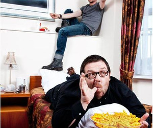 nick frost and Simon Pegg image