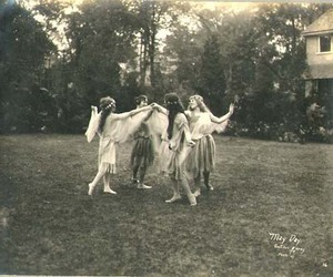 girl, vintage, and dance image