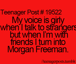lol, morgan freeman, and true image