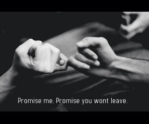 promise, love, and forever image
