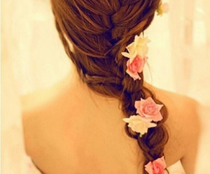 beautiful, love, and braid image