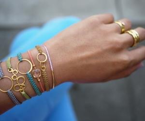 bracelet, diy, and accessories image