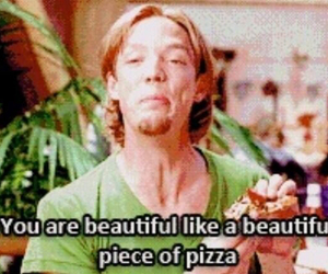 pizza, beautiful, and shaggy image
