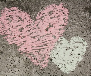 chalk and heart image