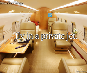 fly, luxury, and private jet image