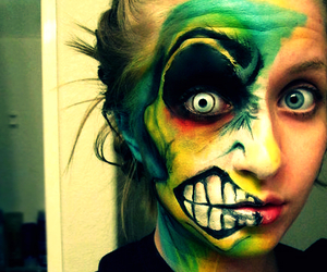 amazing, cool, and face paint image