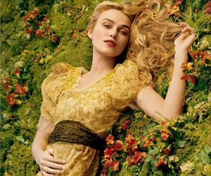 keira knightley, flowers, and vogue image