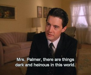 Twin Peaks and quote image