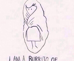 awh, blanket, and burrito image