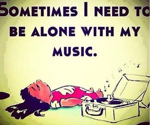 music, alone, and lilo image