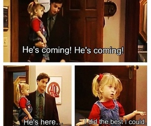 childhood, full house, and michelle image