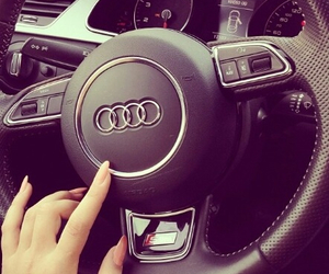 audi, girly, and car image