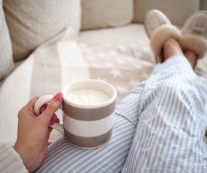awake, breakfast, and day image