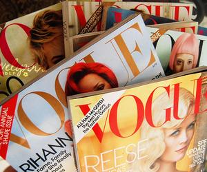 vogue, magazine, and fashion image