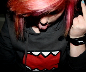 domo, pink, and scene image