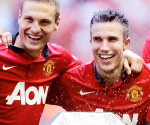 robin van persie and manchester united image