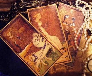magic, tarot, and witch image