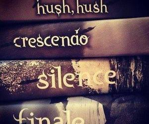 Finale, silence, and libro image