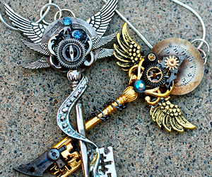 keys and steampunk image