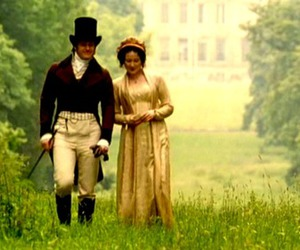 bennet, mr darcy, and pride and prejudice image