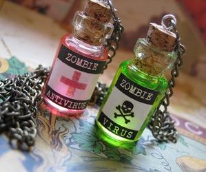 zombie, virus, and antivirus image