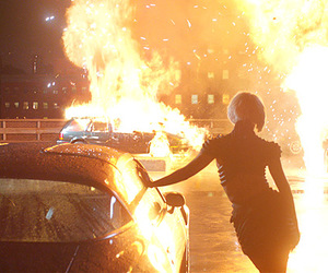 Lady gaga, marry the night, and fire image