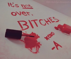 pretty little liars, pll, and bitch image